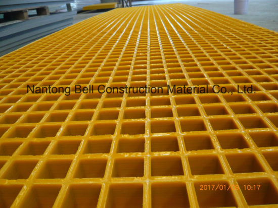 FRP Molded Grating for Platform, Fiberglass/Glassfiber Grating. pictures & photos