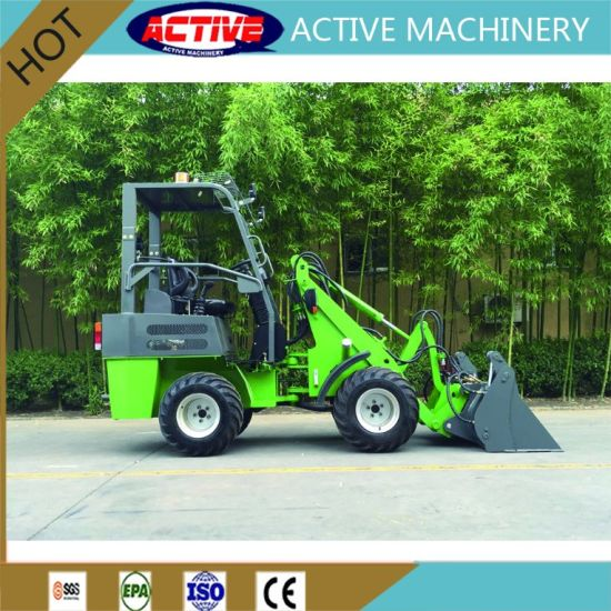 AL906 Smallest but Highest Quality Mini Wheel Lader Backhoe Tractor for Sale pictures & photos