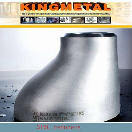 ASTM B16.9 304 Stainless Steel Pipe Fitting Concentric Reducer. pictures & photos
