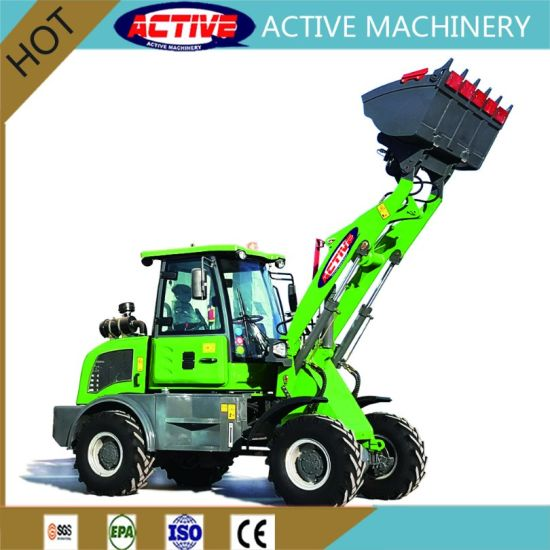 AL910/ZL10 1ton Euro 3 Mini Wheel Loader with Ce Approved pictures & photos