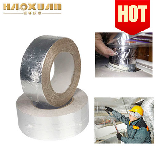 Low Price Aluminum Foil Self Adhesive Binding Air Duct Tape Colored pictures & photos