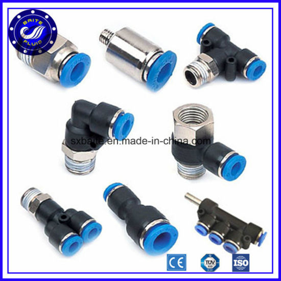China Fast Plastic Quick Connect Pneumatic Air Fittings pictures & photos