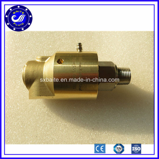 """Hydraulic 1/2"""" NPT Thread Rotary Union Seals Joint pictures & photos"""