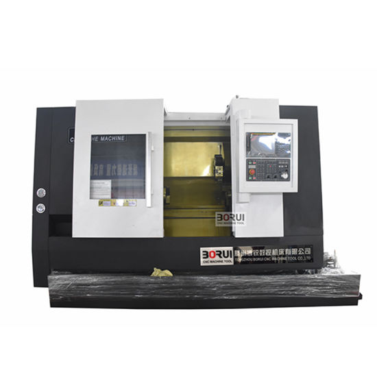 Tck56A Cheap Heavy Duty Linear Guide Way Slant Bed Horizontal CNC Lathe Machine in China pictures & photos
