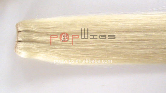 Blond Brazilian Hair Weaving Extension (PPG-l-01900) pictures & photos