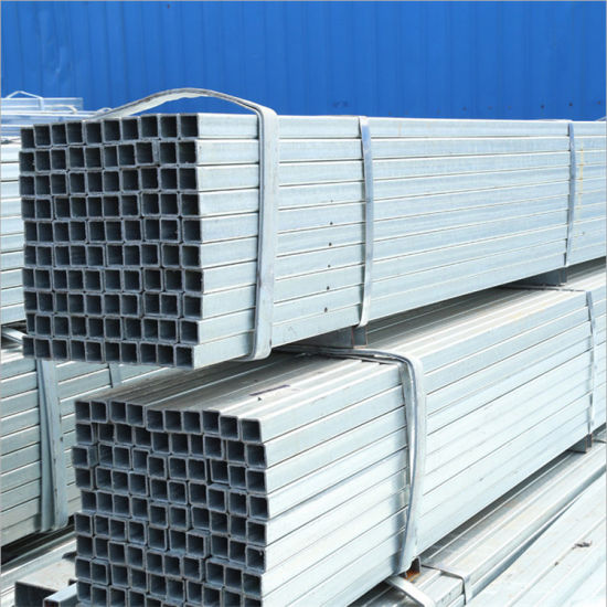 High Quality Galvanized Square Pipe Tube pictures & photos