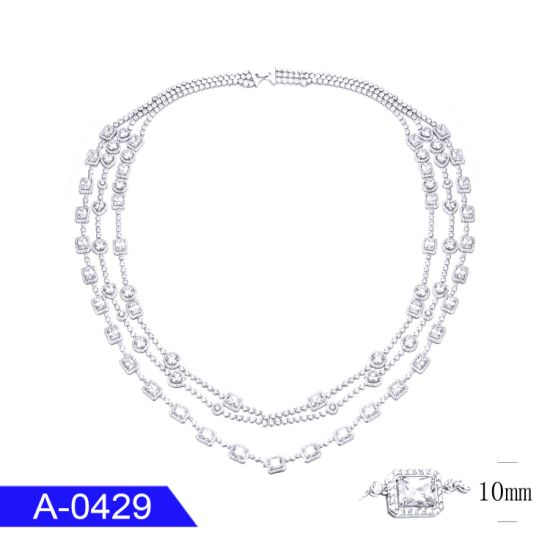 New Fashion Jewelry 925 Sterling Silver or Brass Necklace for Sale pictures & photos