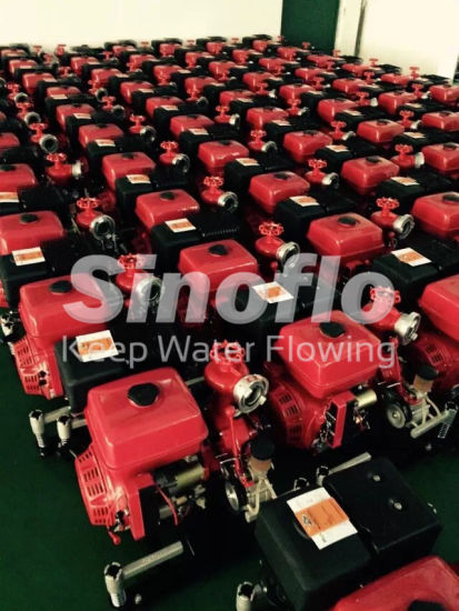 22HP Portable Diesel Engine Vacuum Priming Fire Water Pump pictures & photos