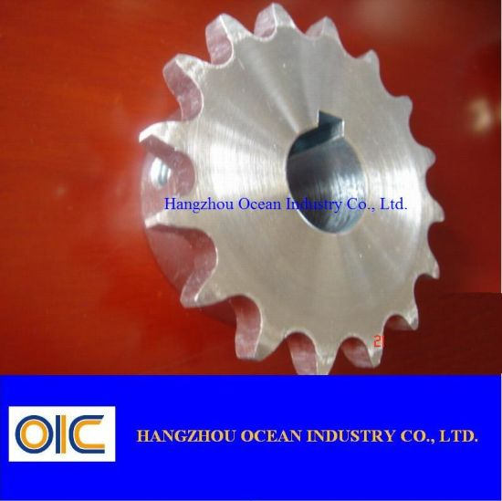DIN Standard Chain Sprocket Wheel China Factory Supplier High Quality Chain Sprocket Wheel with Surface Treatment pictures & photos