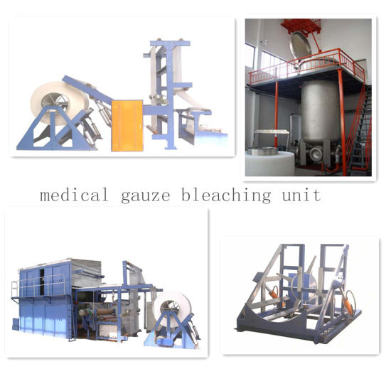 Medical Gauze or Absorbent Cotton Production Line pictures & photos