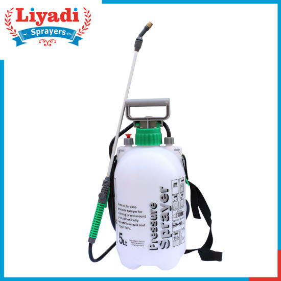 5L Manual PE Cheap High Pressure Shoulder Sprayer pictures & photos