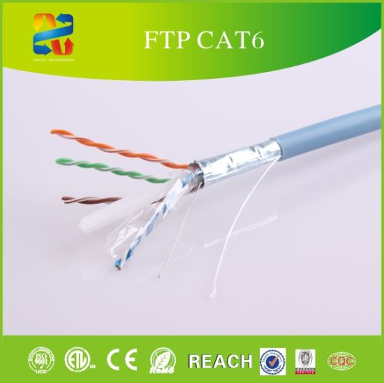 LAN Cable 23AWG Ethernet Cable CAT6 UTP Cable pictures & photos