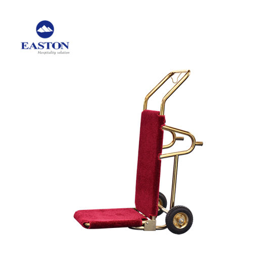 Foldable Design Cart for Hotel Luggage Carrying pictures & photos