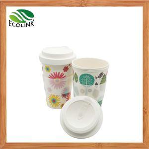 12 Oz Bamboo Fiber Cup Reusable Bamboo Fiber Coffee Mug pictures & photos