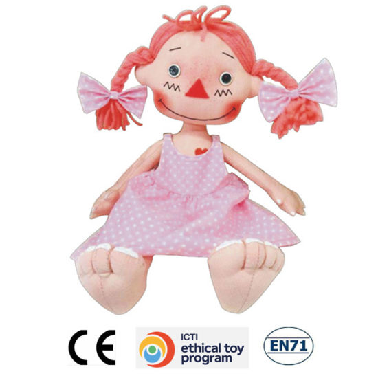 New Fashion Soft Plush Toy Stuffed Rag Doll pictures & photos