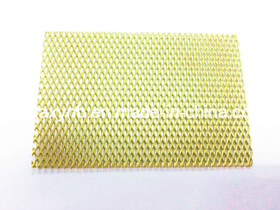 ASTM B265 Gr7 Titanium Alloy Mesh Plate pictures & photos