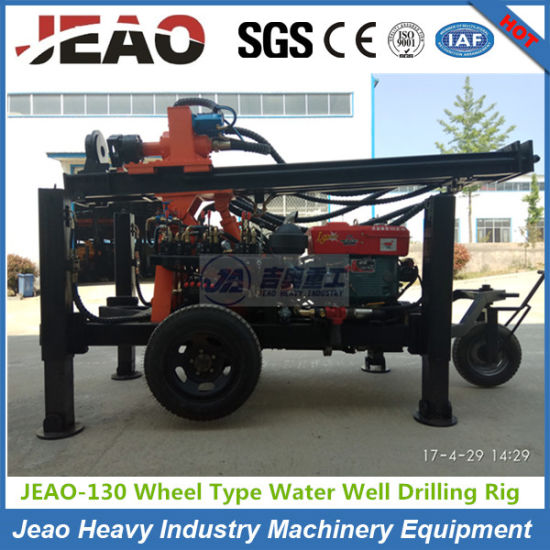 Fy130 Small Borehole Drilling Rig for Water Well pictures & photos