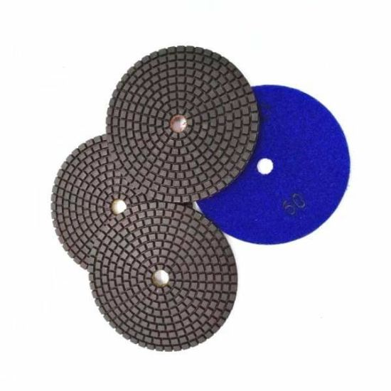 Copper Bond 100mm Resin Polishing Pads pictures & photos