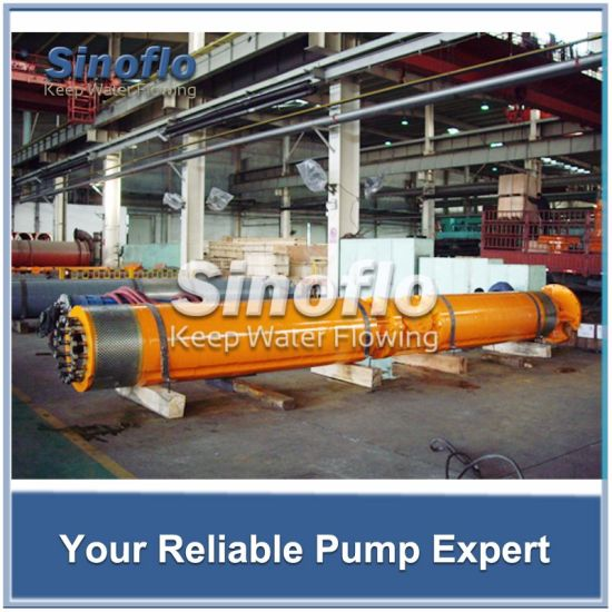 Mine Drainage Submersible Pump with high flow high lift pictures & photos