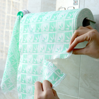 Disposable Colorful Non Woven Dishcloths pictures & photos