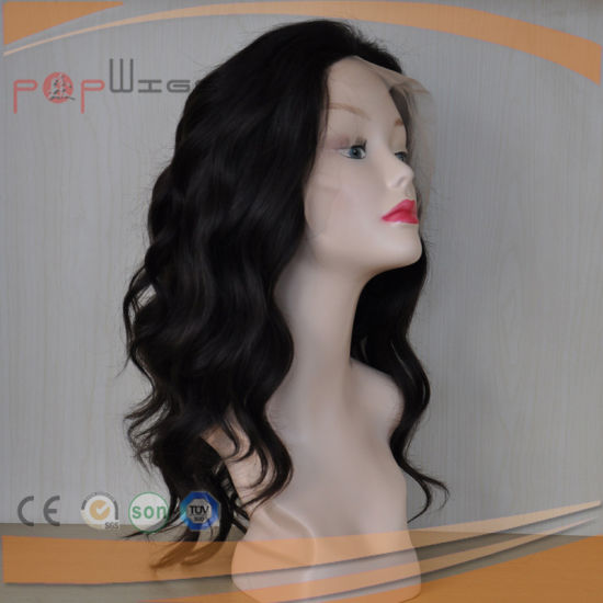 Virgin Hair Full Lace Wavy Women Wig (PPG-l-0740) pictures & photos
