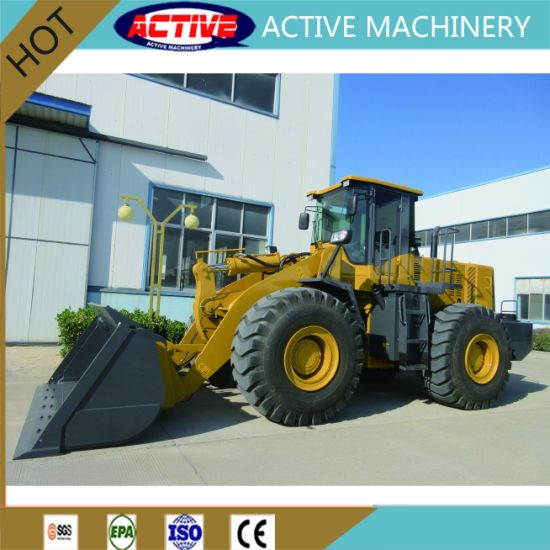 AL966E 6ton construction machine wheel loader with very high quality and cheap price pictures & photos