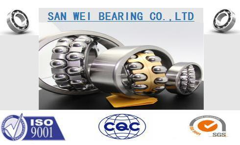 Self-Aligning Ball Bearing1309 1310 1311 1312 Single/Double Row Black Corner/Chamfer pictures & photos