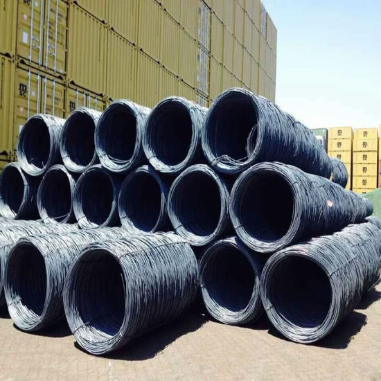 Low Price Hot Rolled High Carbon Steel Wire Rod pictures & photos
