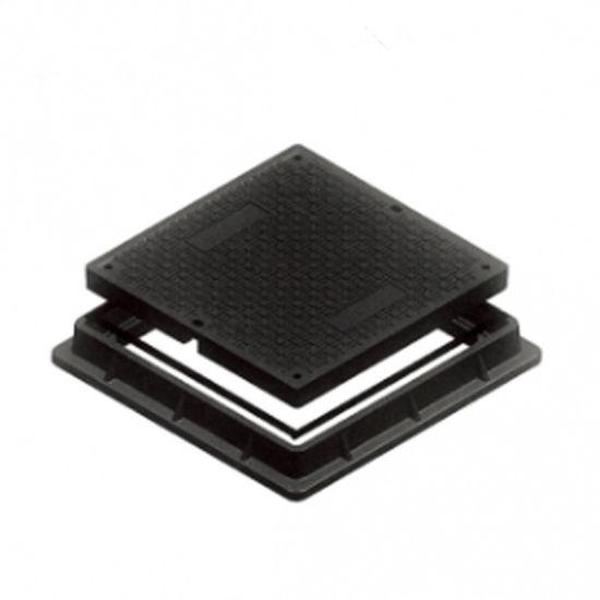 600*600mm En124 B125 Composite Manhole Cover pictures & photos