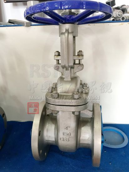 Cast Stainless Steel ANSI Hand Wheel Flanged Gate Valve pictures & photos