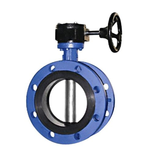 Flanged (Rubber Lined) Desulfurization Butterfly Valve/Stainless Steel Valve pictures & photos