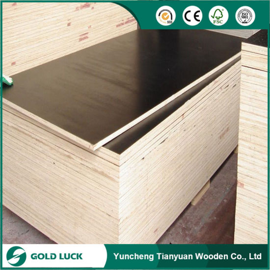 Phenolic 18mm Film Faced Plywood/ Shuttering Plywood/ Concrete Plywood pictures & photos