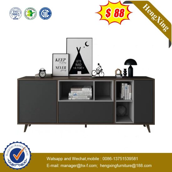 MDF Stylish TV Unit Stand Modern Living Room Furniture pictures & photos