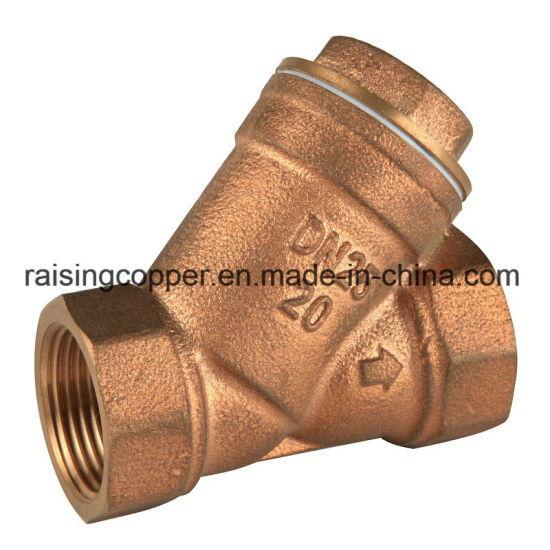 Casted Bronze Y Strainer Supplier pictures & photos