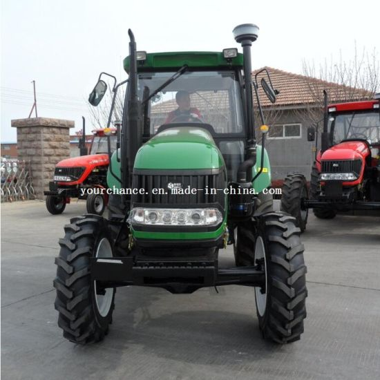 Ce Certificate High Quality Dq1104 110HP 4X4 4WD Big Wheel Type Agrilcultural Farm Tractor pictures & photos