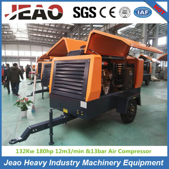 Hg460-13c Diesel Screw Towable Trailer Air Compressor for Mining pictures & photos