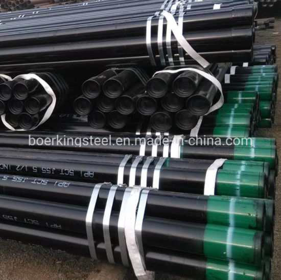API 5CT /5dp J55 K55 P110 N80 L80 Welded Casing Drill Pipe for Natural Oil and Gas Steel Pipe pictures & photos