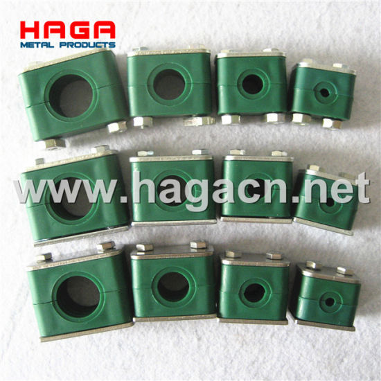Light Heavy Twin Type Tube Clamp Hydraulic Pipe Clamp pictures & photos