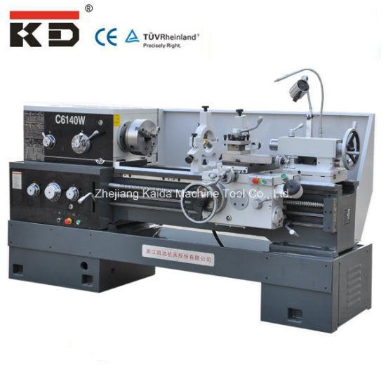 Good Priec Harden Rail Metal Precision Lathe Machine C6140W pictures & photos