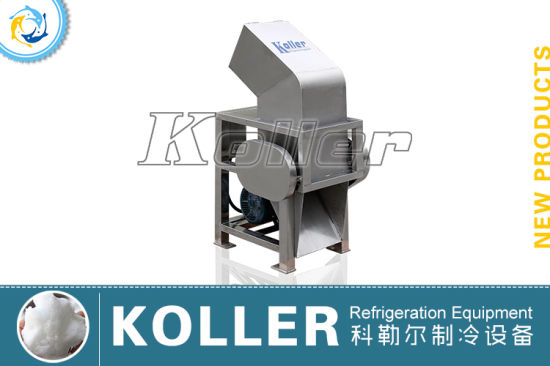 Ice Tubes/Cubes Crusher Maker with SUS304 Material pictures & photos