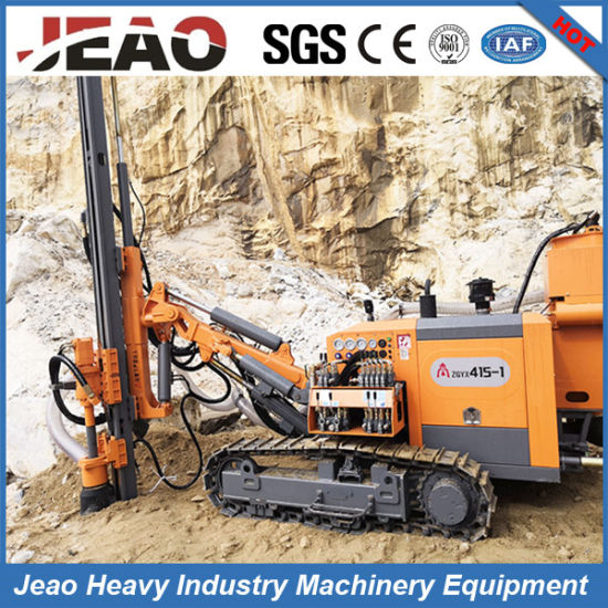 Crawler Type DTH Blasting Hole Drilling Rig with Air Compressor pictures & photos