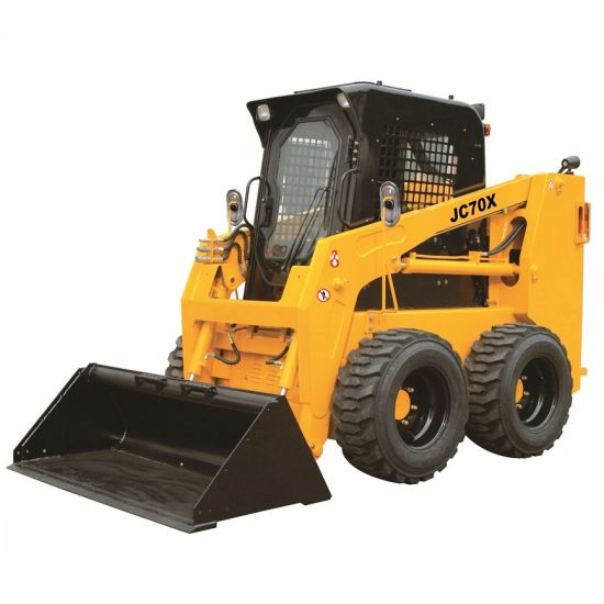 Wheel Type Skid Steer Small Loader pictures & photos