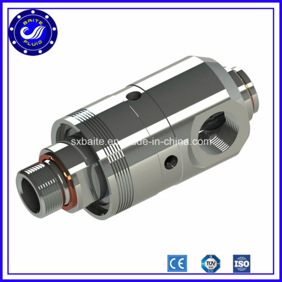 Stainless Steel Aluminum High Speed High Pressure Steel Air Rotary Joint Union pictures & photos