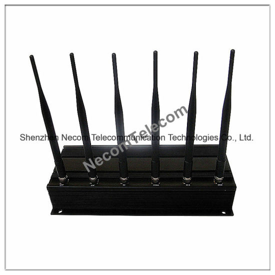 GSM800MHz+GSM900MHz+GSM1800MHz+GSM1900MHz+Gpsl1+WiFi+Lojack Cellular Phone Jammer/Blocker pictures & photos