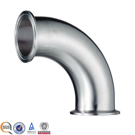 2 CMP Clamped Elbow Stainless Steel Sanitary Pipe Fitting pictures & photos