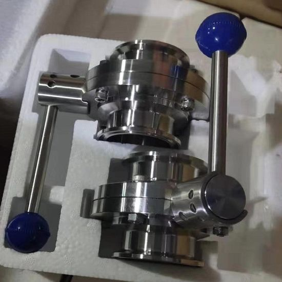 300 Series Stainless Steel Triclamp Butterfly Valve pictures & photos