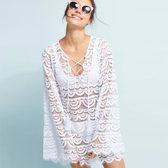 Lace Crochet Beach Tunic pictures & photos