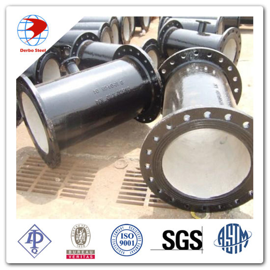 ISO2531 Dn300 K9 Flange End Ductile Iron Pipe pictures & photos