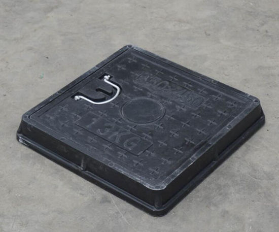 450*450mm Handle Square Resin Manhole Cover pictures & photos