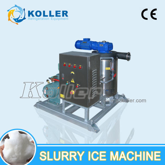 1000kg Seawater Slurry Ice Machine Used in The Boat Slurry Ice for Fish pictures & photos